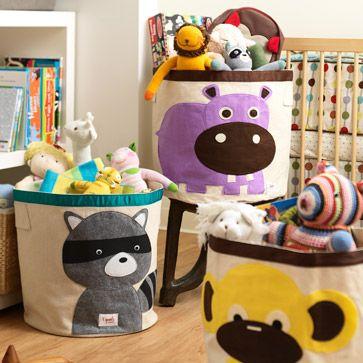Aufbewahrungsbox Waschbär aus der Kategorie Spielzeug-Aufbewahrung von Mamarella - Details