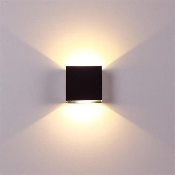 These Modern Led Cube Boxes Provide The Most Warming Delicate Light Covering 3 5 Square Meters Made From Aluminum Wall Lights Wall Mounted Lamps Wall Lamp