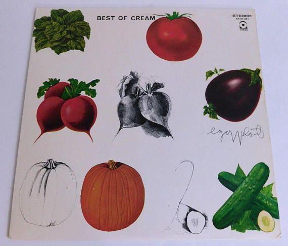 Vintage Vinyl Record  Best of Cream  ATCO 1969 SD 33-291