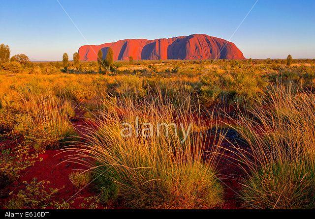 Uluru, Ayers Rock, in the late afternoon, Northern Territories, Australia
