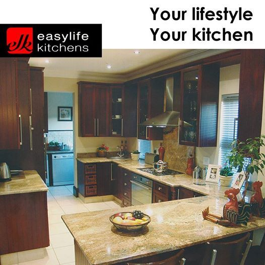 Marble or Melamine, Easylife Kitchens George will make the kitchen of your dreams. We also do bathroom and bedroom units to your specifications. #cupboards #designercupboards #lifestyle