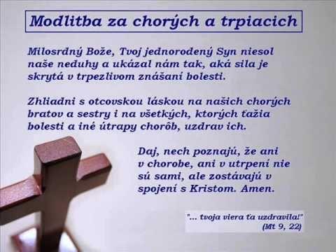 Modlitby za chorých, vzkladanie rúk, pomazávanie olejom - Alexander Barkoci