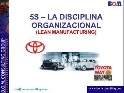 5s (Seiri, Seiton, Seiso, Seiketsu, Shitsuke) - Lean Manufacturing -