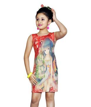 Jazzup Red Party Wear Dress