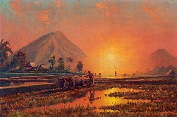 Leo Eland - Bekerja Saat Matahari Terbenam
