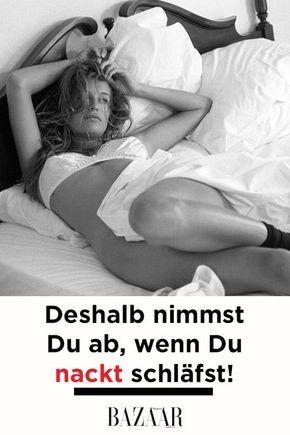 nackt schlafen männer