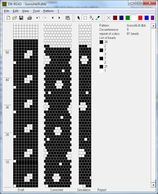 Free Crochet Bead Pattern Round 9