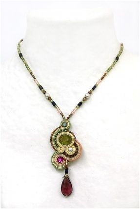 Soutache...these colors are beautiful!