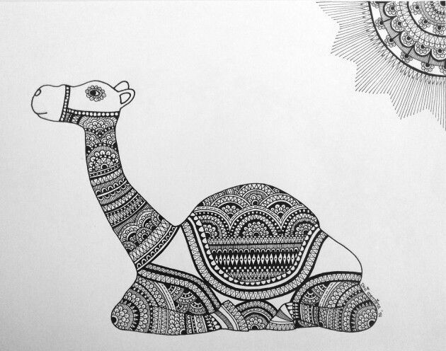 """CAMEL ON POSE"". Inspired by the camel statue I bought in Dubai.. =)"