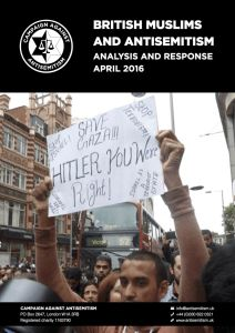 BRITISH MUSLIMS AND ANTISEMITISM