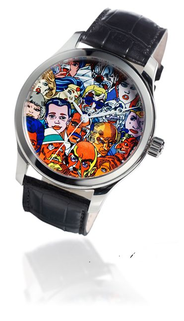 The Artist Erró and JS Watch co. Reykjavik made a unique watch to rase funds for charity