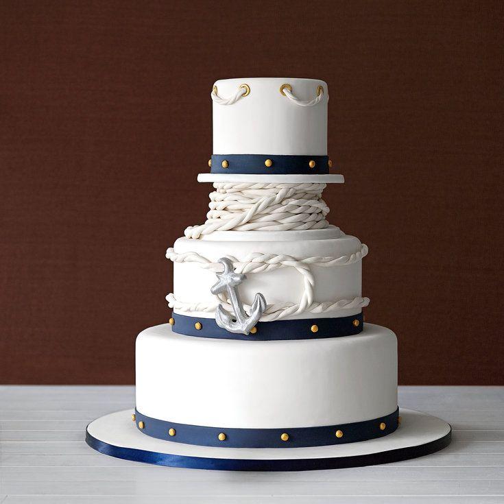 Coastal Wedding Cakes - Coastal Living