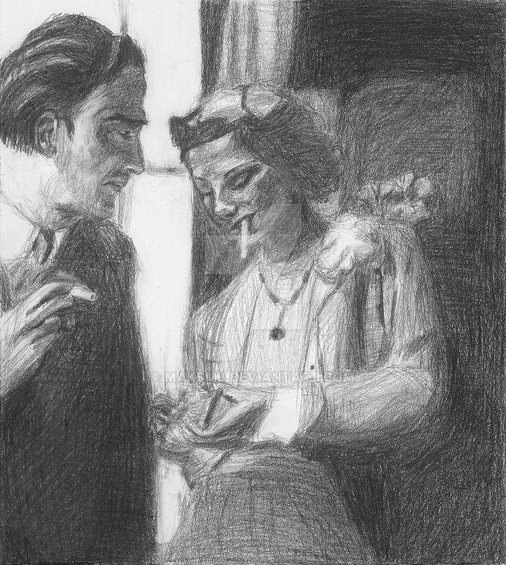 Salvador Dali and Coco Chanel by maksmj on DeviantArt