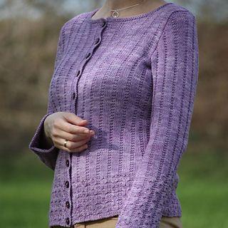 Sugared Lilacs knitting pattern by Ágnes Kutas-Keresztes
