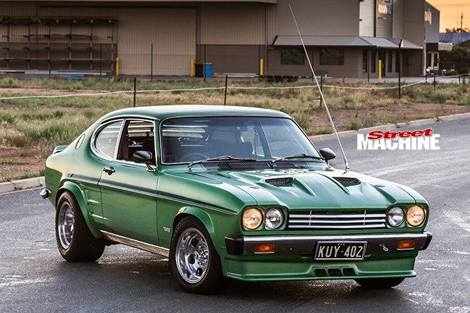 ford capri front angle 2 nw