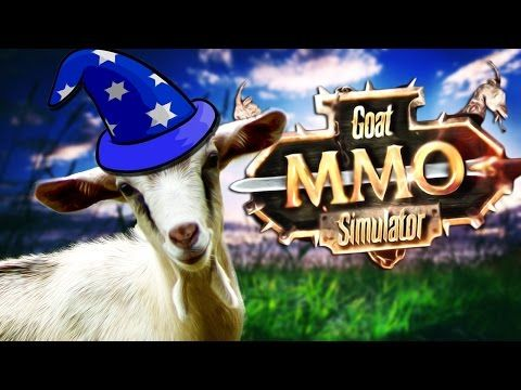 YOU'RE A WIZARD HARRY! | Goat MMO Simulator - YouTube