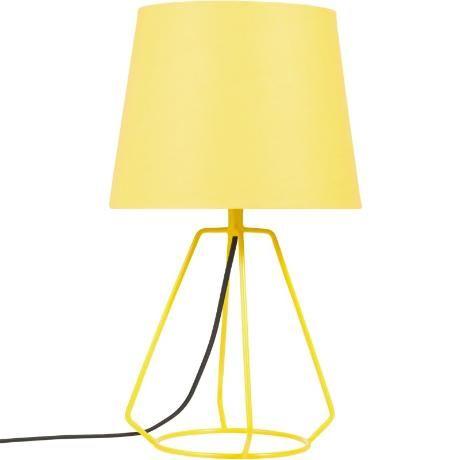 Färgglad fin lampa
