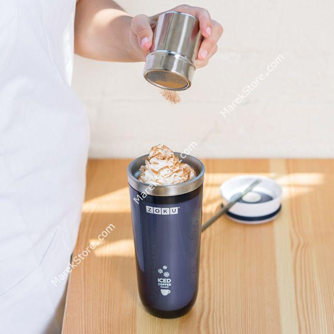 Kubek termiczny ICED COFFEE MAKER - mrożona kawa w kilka minut / ZOKU
