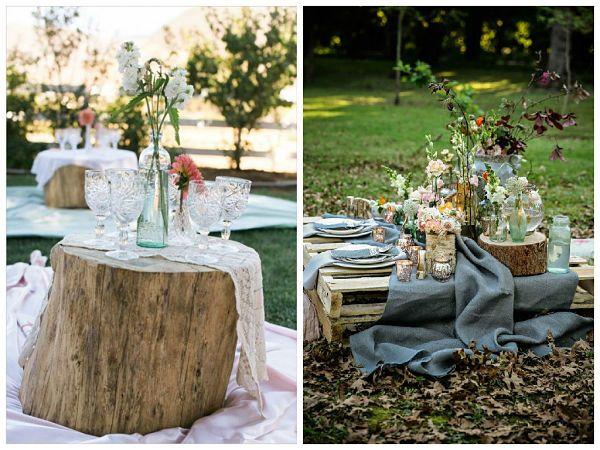 Una alternativa al clásico banquete de #boda, ¡un picnic!