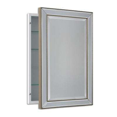 Fresh 3 Door Recessed Medicine Cabinet