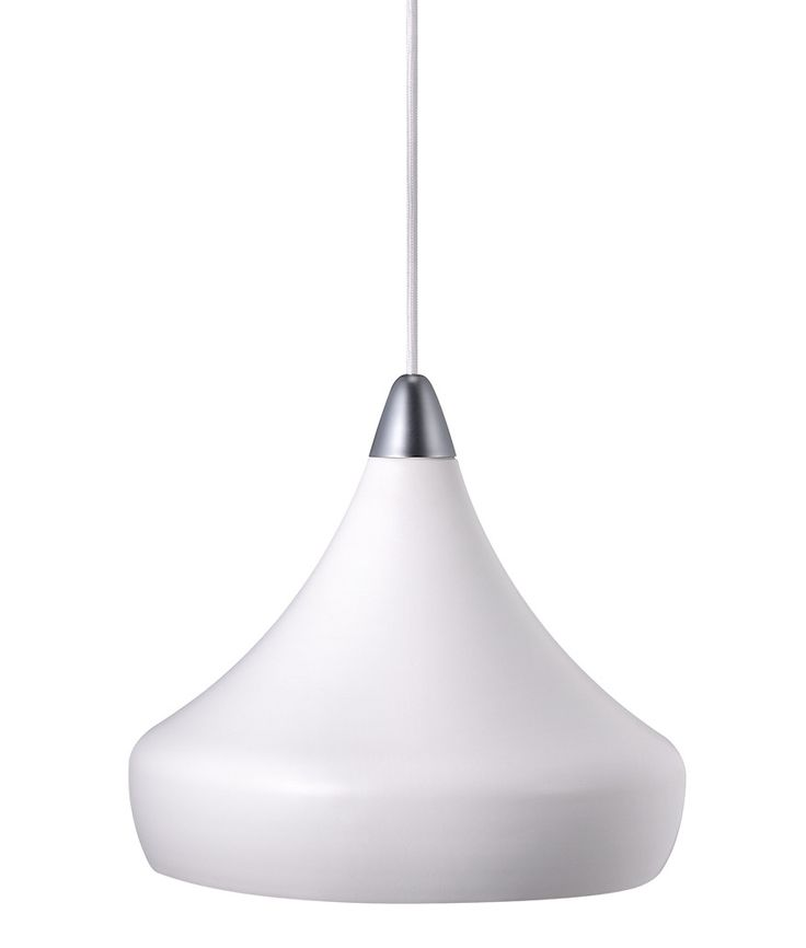 Think Danish lighting, think white. Our Jonas white pendant light can help you on your way to achieving the immaculately minimalist look of the Danes.