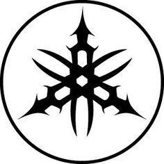 Passion Stickers Yamaha Logo Tribal Tattoo