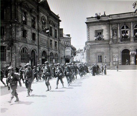 La seconde guerre mondiale en Mayenne. Laval