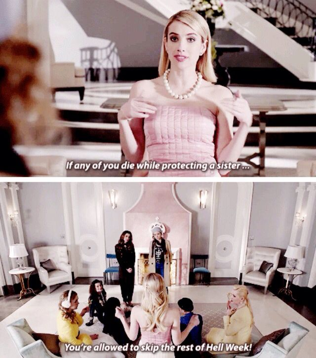 Scream Queens / SOOOO excited for this show cause of the AMAZING cast!!: