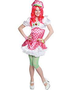 Teen Girls Strawberry Shortcake Costume - Teen Girls Costumes- Girls    Strawberry Shortcake Costume Teen