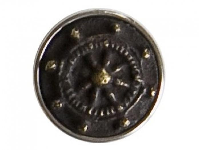 055: Noosa Chunk Wheel: Dit wiel is een van de oudste symbolen bekend uit het boeddhisme. Het symboliseert het absolute geluk dat een mens kan bereiken.