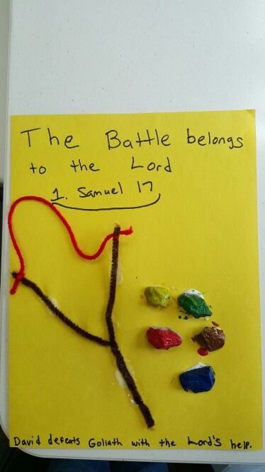 david and goliath craft ideas 24 best images about sunday school 2 amp 3 year olds on 6437