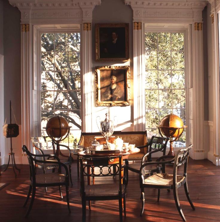 Nathaniel russell house charleston south carolina 1808 charleston pinterest - Carolina dining room ...