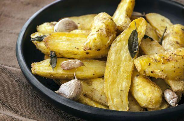 Fűszeres sült krumpli - TEJMENTES