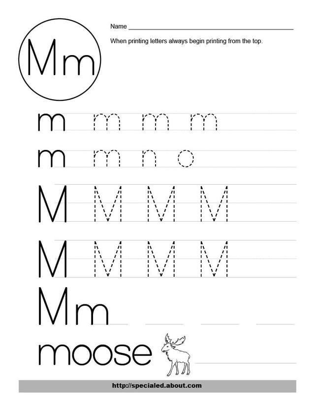 free worksheets for the letter m letter number recognition letter m worksheets. Black Bedroom Furniture Sets. Home Design Ideas