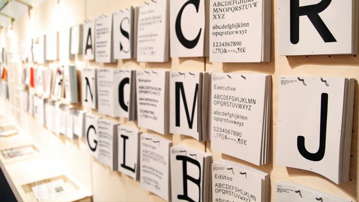 »ON–TYPE: Texte zur Typografie« ist eine Ausstellung des Gutenberg‐Museums und der FH Mainz/Designlabor Gutenberg, die vom 8. Mai bis 11. August 2013 im Bauhaus‐Archiv Berlin gezeigt wird.