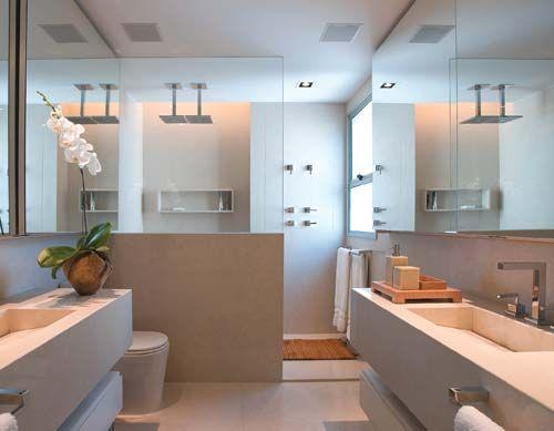 Decoração para Banheiro de Casal - Dicas e Fotos