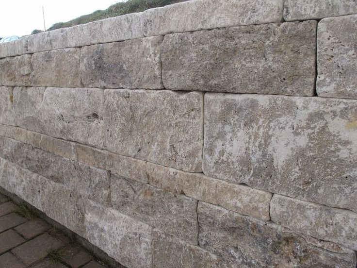 Travertin Stein Mauer Mauersteine Grau Trockenmauer Steinmauer Naturstein Muster in Garten & Terrasse, Landschaftsbau, Terrassen- & Gehwegmaterialien | eBay