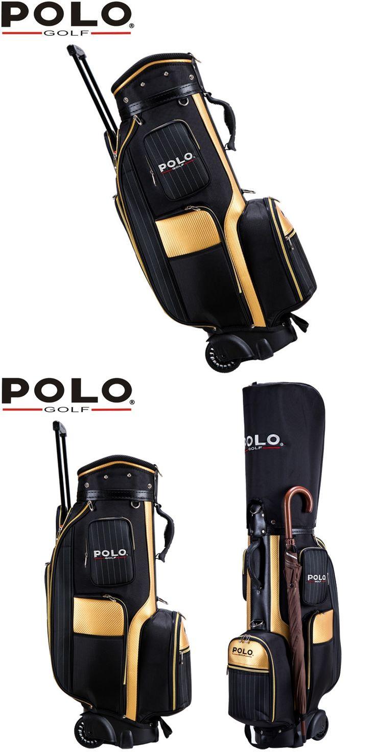Famous Brand Golf Travel Wheels Standard Stand Caddy Bag Complete Golf Set Bag High Density Nylon golf cart bag staff golf bags