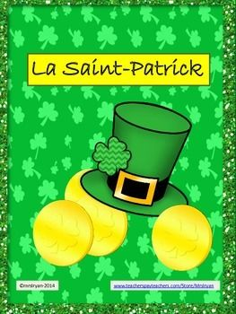 La Saint-Patrick - FRENCH Fun for Saint Patrick's Day - Activities