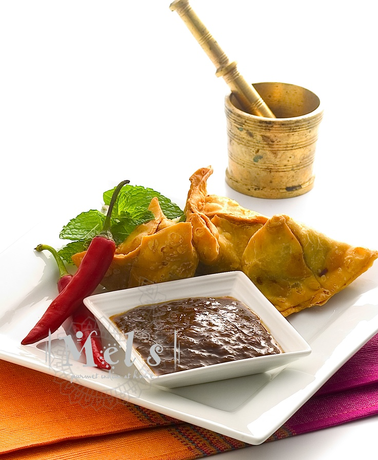 Sweet & piquant - Mels Tangy Tamaring Chutney...originally made for the humble samosa...but delicious as a dip with any finger food, use in wraps, on a cheese board, on a mezze platter with cured meats or as a marinade and basting sauce..  www.mels.co.nz