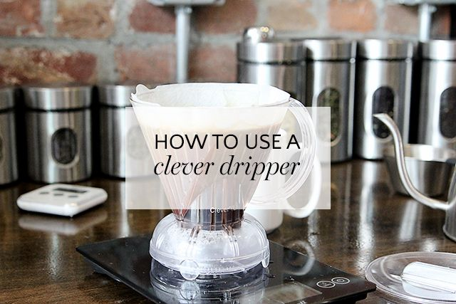 How to Brew Coffee with a Clever Coffee Dripper - A Girl Named PJ
