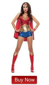 Women's Wonder Woman Halloween Costume