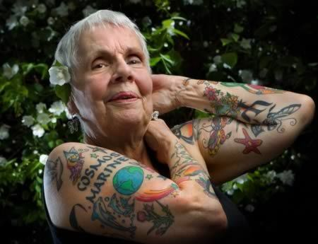 41 best images about old people with tattoos on pinterest for People getting tattoos