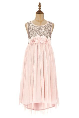 Buy Sequin Corsage Dress (3-14yrs) from the Next UK online shop