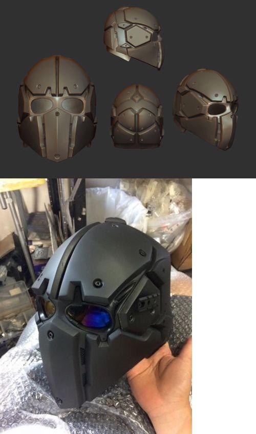 3D Scanners 183064: 3D Printing Stl File Helmet -> BUY IT NOW ONLY