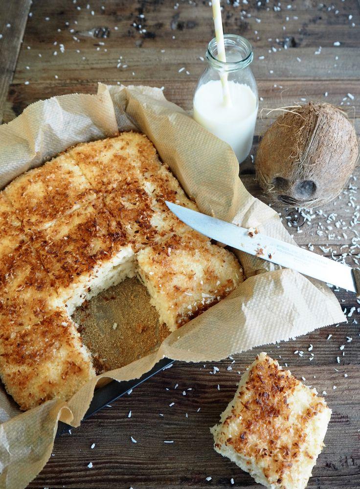 Kokos-Buttermilch-Kuchen für den Sommer