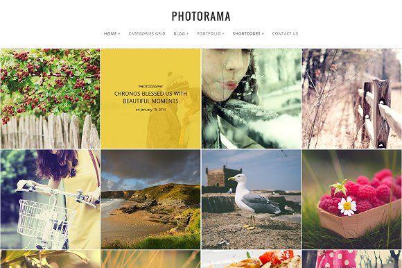 Photorama - Photography WP Theme by WPSynergy on @creativemarket