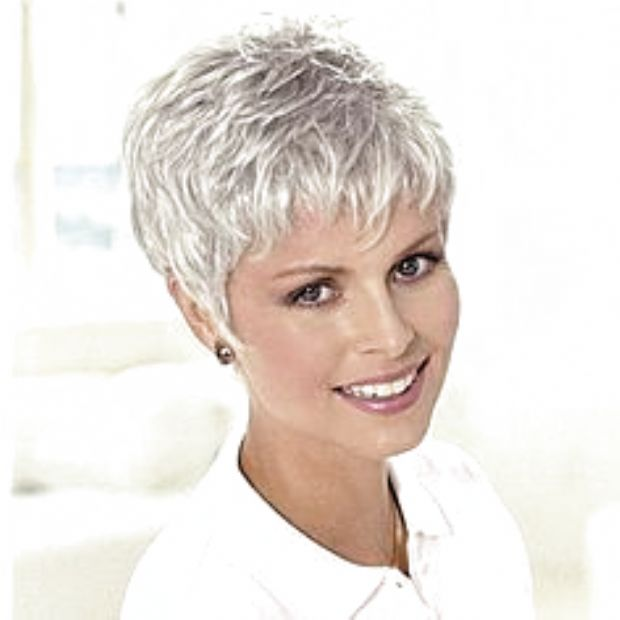 Hairstyles For Thin Short Hair Over 60 #hairstyles # ...