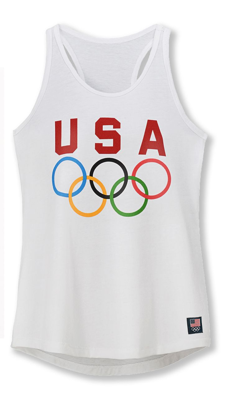 The perfect summer tank for your girl on the go. The racerback style shows off her tan from your last family beach trip and lets her move freely. The classic Team USA logo will come in handy for those Olympics watching parties with her friends to cheer on their new hero, Simone Biles.