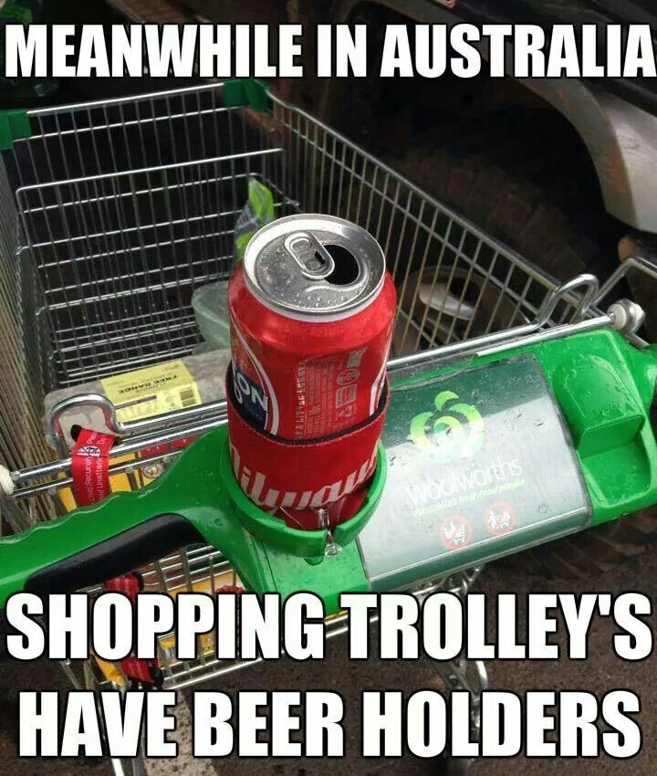Meanwhile in Australia. No. Not true. But I guess you could fit a beer in there lol